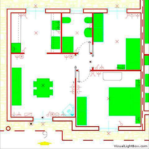 Schema impianto elettrico bagno riparazioni appartamento - Impianto elettrico in bagno ...